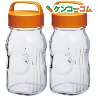 漬け上手 フルーツシロップびん 1500ml オレンジ I-77860-OR-A-JAN-S ( 2個 )