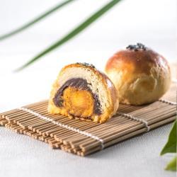 【臻饌】沖繩黑糖蛋黃酥12入禮盒(2盒)紅