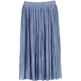 【5,000円以上お買物で送料無料】FURRYRATE サテンプリーツスカート