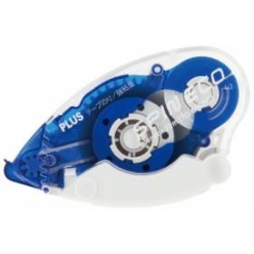 プラス(PLUS)テープのり スピンエコ 本体 8.4mm幅 ブルー TG-610BC 37-585
