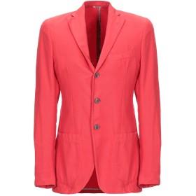 《期間限定 セール開催中》ALTEA メンズ テーラードジャケット レッド 48 コットン 100%