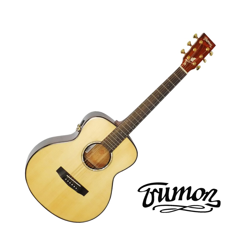 Trumon楚門吉他36吋 G-850mini 面背單 帶電 旅行吉他 小吉他 GS-mini 民謠吉他【黃石樂器】