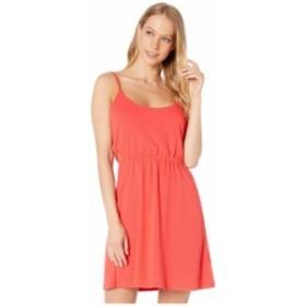 ボルコム レディース ワンピース トップス Le Fresh Dress Flash Red