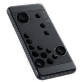 スマホ用 ブルートゥース Bluetooth ワイヤレスゲームコントローラーパッド055 ブラック