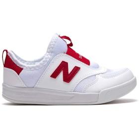 [ニューバランス] キッズスリップオンKS300 子供靴キッズスニーカー学生スニーカー子供靴男女共用の靴 上履き (210K, Red) [並行輸入品]