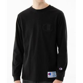 <Champion/チャンピオン> 長袖Tシャツ 090ブラック 【三越・伊勢丹/公式】