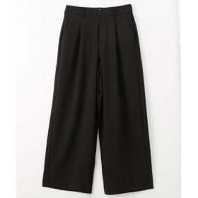 お手入れ簡単♪ 通勤にぴったりワイドパンツ (レディースパンツ),pants
