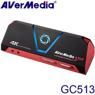 【MR3C】限量 含稅 AverMedia圓剛 GC513 LGP2 PLUS實況擷取盒