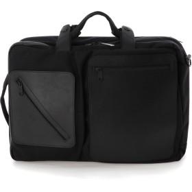 UN METRE PRODUCTIONS Three Way Bag L/P_Mini リュック・バッグパック,ブラック