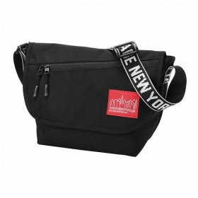 マンハッタン ポーテージ IDENTII Casual Messenger Bag JR ユニセックス Black S 【Manhattan Portage】