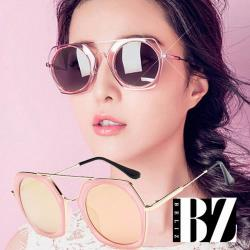 BeLiz精選75折-雙層六角型金屬墨鏡 四色可選