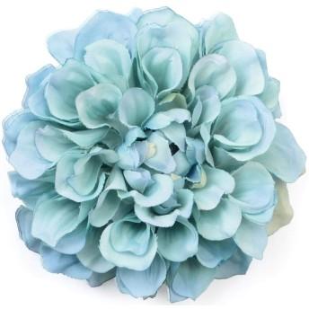 (ディータ) Dita 浴衣用花髪飾り ピンポンマム 大人可愛いかんざし スカイ
