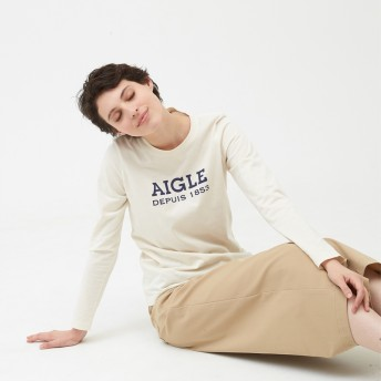 AIGLE レディース エクリュ (102) シャツ・ポロシャツ