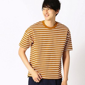 【SALE(伊勢丹)】<COMME CA ISM (メンズ)> ボーダー Tシャツ(4764TL22) イエロー【三越・伊勢丹/公式】