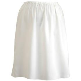 Felice 丈が選べる透けないペチコート 日本製 オフホワイト Mサイズ 45cm丈