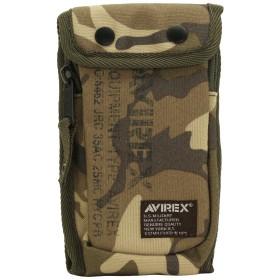 AVIREX アヴィレックス イーグル スマートフォンケース AVX3518 サンド