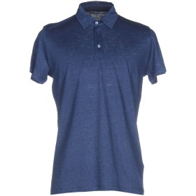 《期間限定セール開催中!》MAJESTIC FILATURES メンズ ポロシャツ パステルブルー XXL 麻 70% / シルク 30%