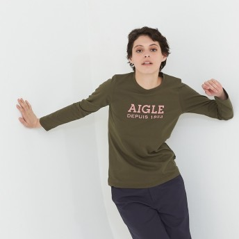 AIGLE レディース ベリーカーキ (154) シャツ・ポロシャツ