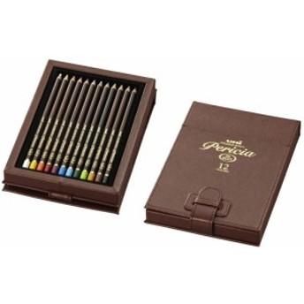 uni 三菱鉛筆 色鉛筆 ユニ カラードペンシル ペリシア 12色セット 12C ラッピング無料!! UCPPLC12C 【RCP】