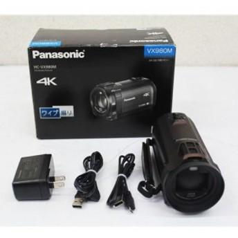 E4213NU 【美品】デジタル4Kビデオカメラ パナソニック HC-VX980M Panasonic ハンディカム 内蔵メモリ(64GB)