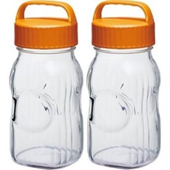 dポイントが貯まる・使える通販| 漬け上手 フルーツシロップびん 1500ml オレンジ I-77860-OR-A-JAN-S (2個) 【dショッピング】 調理器具 その他 おすすめ価格