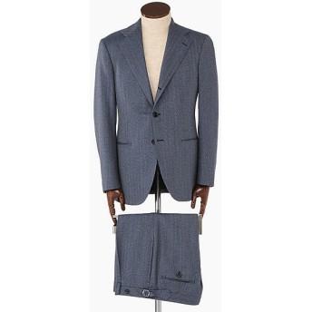 <イセタンメンズ/ISETAN MEN'S> [葛利毛織別注]ブルーヘリンボーンスーツ[フィレンツェモデル] ブルー 【三越・伊勢丹/公式】