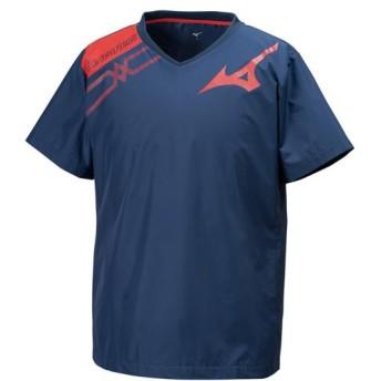MIZUNO SHOP [ミズノ公式オンラインショップ] ブレーカーシャツ[ユニセックス] 14 ドレスネイビー V2ME9501