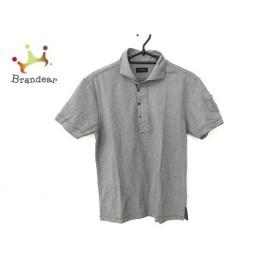 ジョセフオム JOSEPH HOMME 半袖ポロシャツ サイズ46 XL メンズ 黒×白 新着 20190801
