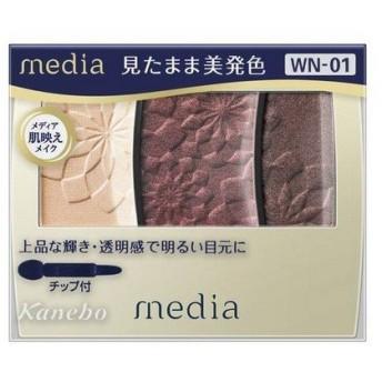 《カネボウ》 メディア グラデカラーアイシャドウ (WN-01)