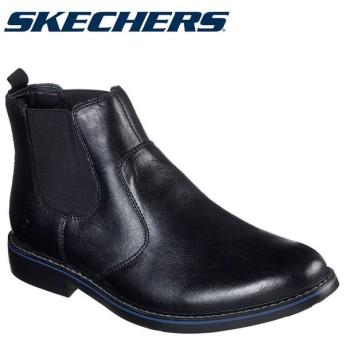 スケッチャーズ SKECHERS BREGMAN-MORAGO 66406-BLK メンズシューズ 19FW