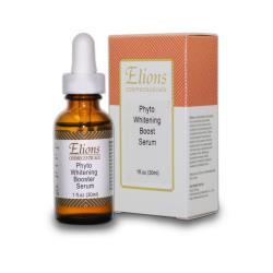 Elions 極淨白淡斑精華液 Phyto Whitening Booster Serum 30ml~使肌膚由內而外恢復光澤亮麗