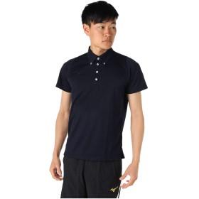 ミズノ ポロシャツ 半袖 メンズ ボタンダウン機能 32JA9079 14 2XL