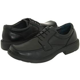 [Deer Stags(ディアスタッグス)] メンズオックスフォード・靴 Bronx Black Burnished Leather US 9 (27cm) M (D) [並行輸入品]