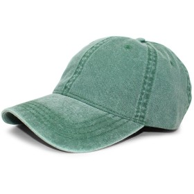 (オットー) OTTO 【WASHED PIGMENT DYED COTTON TWILL SIX PANEL LOW PROFILE CAPS/DARK GRN】ロープロファイルキャップ [並行輸入品]