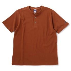 [マルイ] RUSSELL ATHLETIC×SHIPS:別注 ヘンリーネック Tシャツ/シップス(メンズ)(SHIPS)
