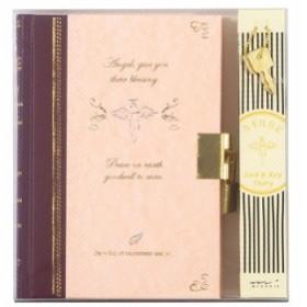 デザインフィル 日記 鍵付 天使柄 12370006