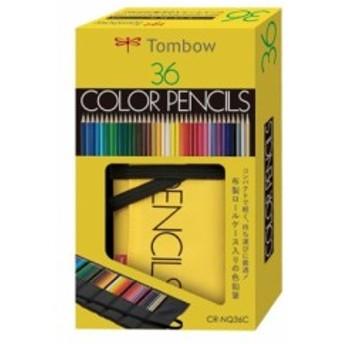 トンボ鉛筆 ロールケース入色鉛筆36色NQ CR-NQ36C
