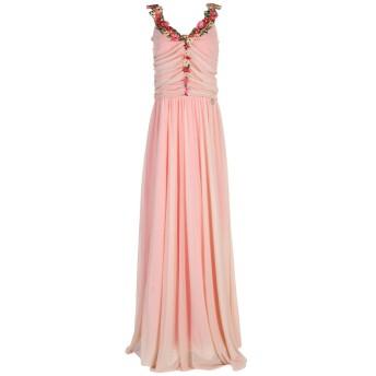 《セール開催中》MANGANO レディース ロングワンピース&ドレス ライトピンク L 95% ポリエステル 5% ポリウレタン