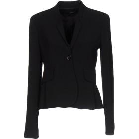 《期間限定セール開催中!》ANNARITA N レディース テーラードジャケット ブラック 44 ポリエステル 97% / ポリウレタン 3%