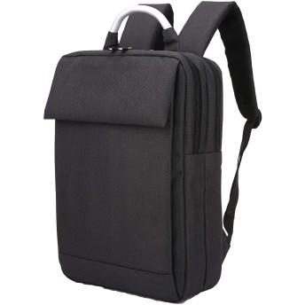 ビジネスリュック 防水バックパック 軽量 薄型 多機能 PCバック、通勤 出張 旅行に適しています