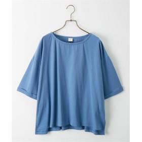 【ゆったりワンサイズ】ヘビーウエイトビッグシルエットTシャツ (Tシャツ・カットソー)(レディース)T-shirts
