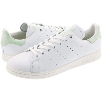 [アディダス] STAN SMITH RUNNING WHITE/LINEN GREEN/OFF WHITE24.5cm