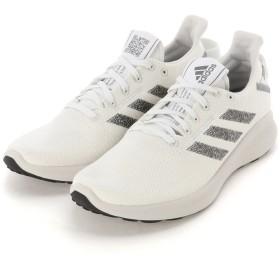 adidas women's adidas アディダス ウィメンズ SenseBOUNCE + STREET W スニーカー スニーカー,ランニングホワイト/コアブラック/グレースリー