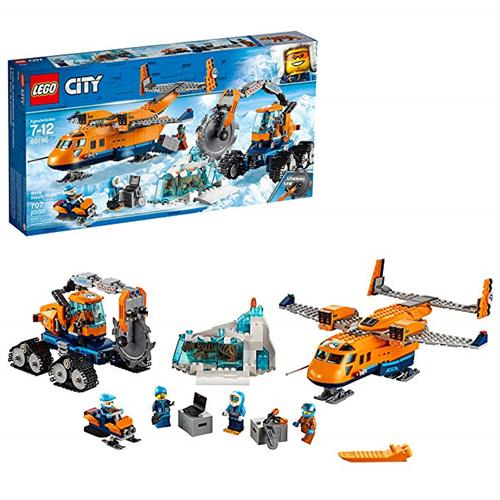 LEGO 樂高 City Arctic Supply Plane 60196 Building Kit (707 Piece)