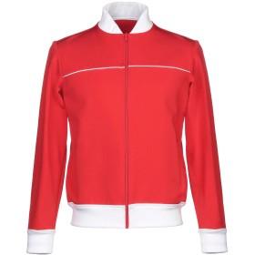 《期間限定 セール開催中》BAND OF OUTSIDERS メンズ スウェットシャツ レッド S レーヨン 86% / ポリアクリル 10% / ポリウレタン 4%
