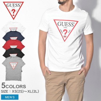GUESS ゲス 半袖Tシャツ CN SS ORIGINAL LOGO M91I29-I3Z00 メンズ ランニング