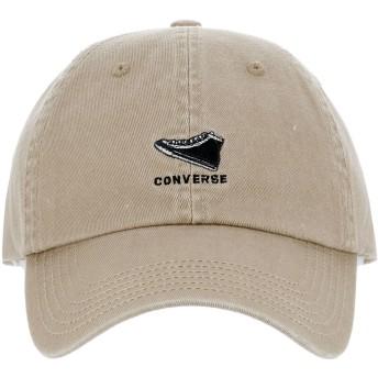 [コンバース] キャップ ミニロゴ サイズ調整可能 帽子 175112717 【93】ベージュ