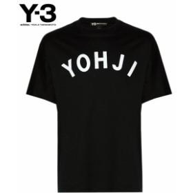 ワイスリー Tシャツ ◆ U YOHJI LETTERS SS TEE メンズ FJ0327 ブラック クルーネック 半袖 adidas yohji yamamoto 送料無料