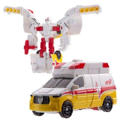 【HAHA小站】CK32497 麗嬰 韓國 CARBOT 迷你 衝鋒戰士 DANDY 救援大力 小汽車 變形 機器人