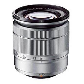 【送料無料】【ラッピング無料】FUJIFILM<富士フイルム> フジノンレンズ XC16-50mmF3.5-5.6 OIS II シルバー F XC16-50MMF3.5-5.6OISI
